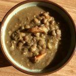 Winterse linzen soep